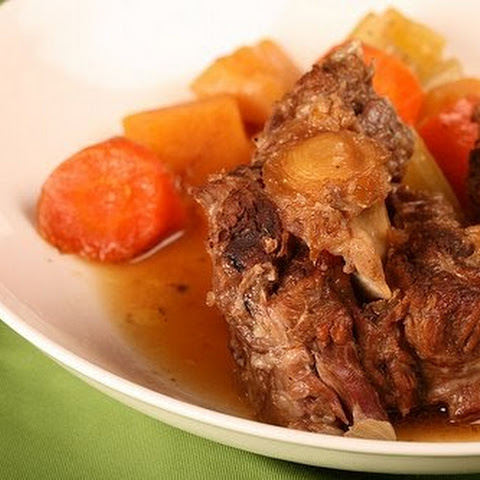 Oxtail Braised In Dark Beer