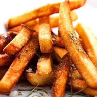 Herbed Garlic Baked French Fries
