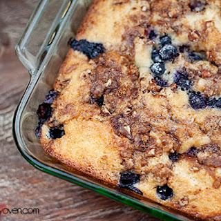 Blueberry Honey Bun Cake
