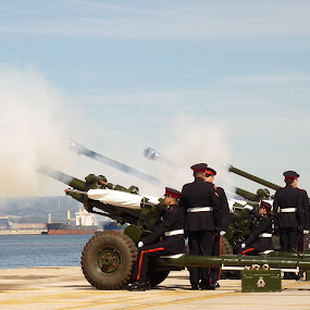 21 Gun Salute by Gabrielle Phillips - Professional People Military