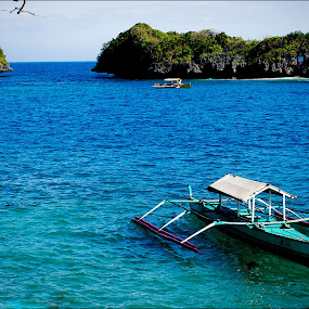 Boat by Gotch Gatchalian - Transportation Boats ( boat, hundred islands )