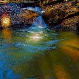 Long Shoals by Bob Buurman - Landscapes Waterscapes