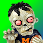 Party Zombie Monster Land Icon