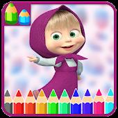 Free Download Princess Coloring Book - Masha APK for Samsung