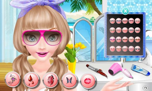 Ocean Princess Shave Salon - screenshot