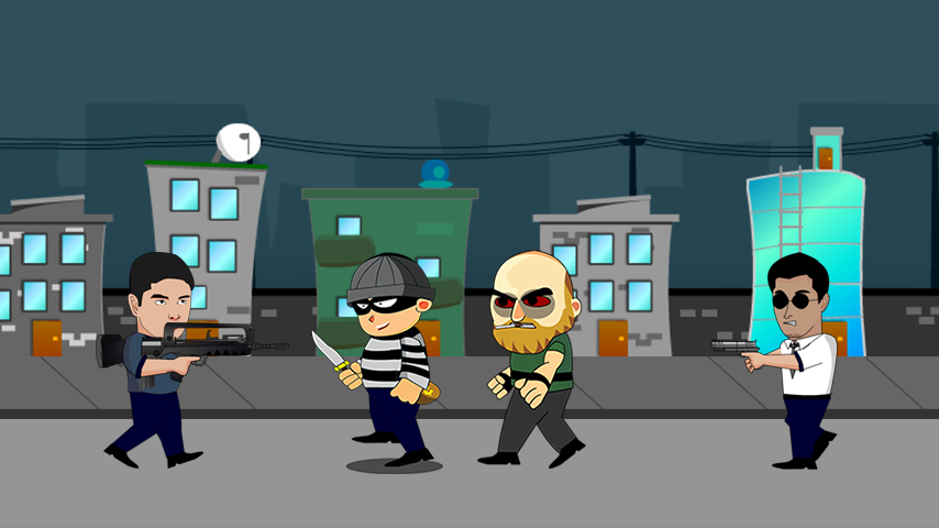 Coco Fighting Crime Screenshot 1