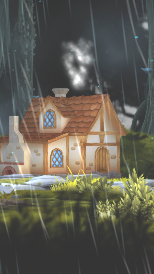 3D Forest House Full LWP Screenshot 6