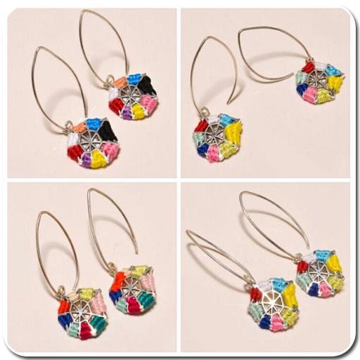Handmade Thread Earrings (app)