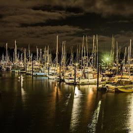 Charleston evening by Jeremiah Jewell - Transportation Boats ( canon, oregon, oregon coast, long exposure, dslr )