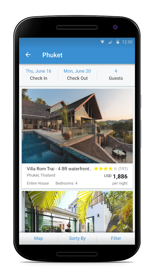 HomeAway Screenshot 1