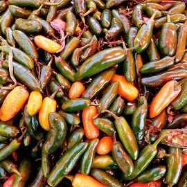 CHILES SERRANOS by Jose Mata - Food & Drink Fruits & Vegetables
