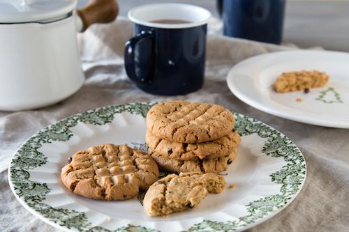 Ingredient Gluten-Free Peanut Butter Chocolate Chip Cookies Recipe ...
