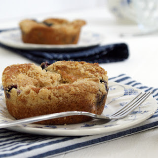 Mini Blueberry Coffee Cakes