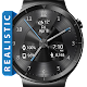 black metal hd watch face widget en live wallpaper APK