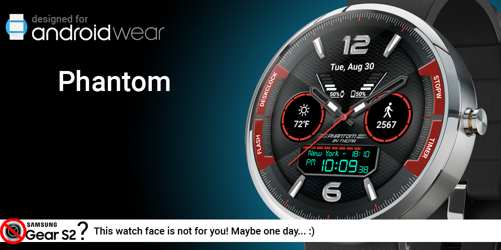 Phantom Watch Face Screenshot