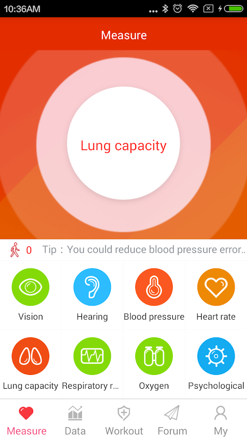 iCare Lung Capacity Pro Screenshot 5