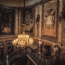 Museo Cerralbo by Ole Steffensen - Buildings & Architecture Other Interior ( interior, museo cerralbo, madrid, staircase, museum, spain )