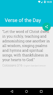 Verse of the Day - screenshot