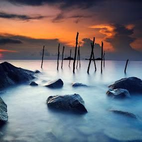 ::. Sunset .:: by Echi Amenk Fariza - Landscapes Sunsets & Sunrises