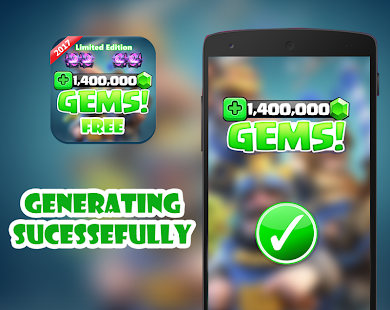 App Gems for Clash Royale prank apk for kindle fire