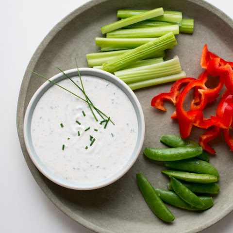 Garlic-Chive Greek Yogurt Dip