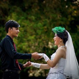 Yeyen by Mursyid Alfa - Wedding Bride & Groom ( wedding, stable sekayu, sekayu )