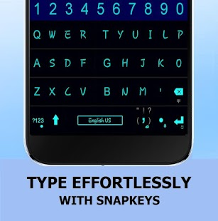 Snapkeys Smartphone Keyboard