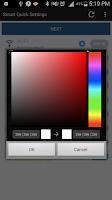 Screenshot of Smart Quick Settings
