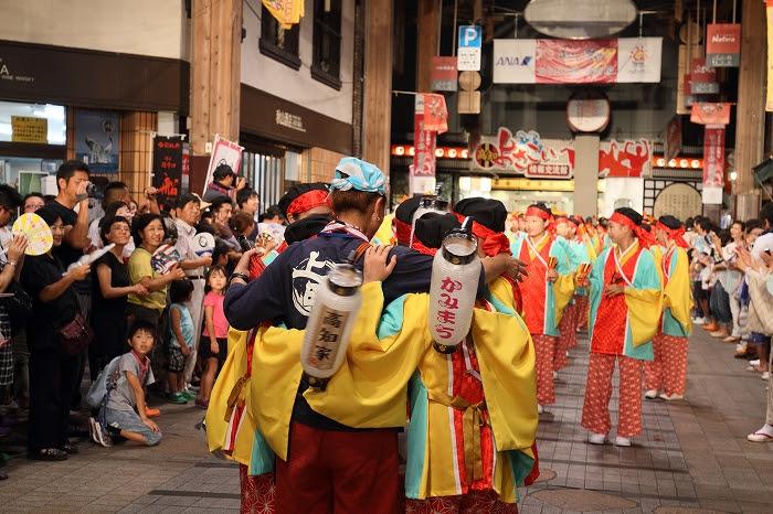 第61回よさこい祭り☆本祭2日目・はりまや橋競演場9☆上1目1419