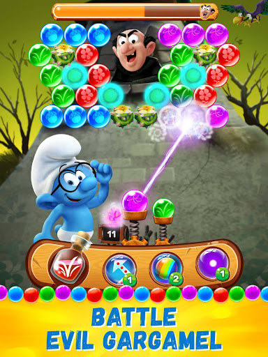 Smurfs Bubble Shooter Story screenshot 13