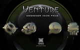 VENTURE HD Icon Pack: miniatura da captura de tela