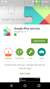 App Play Services Information APK for Windows Phone