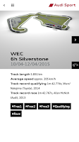 Screenshot of Audi Sport