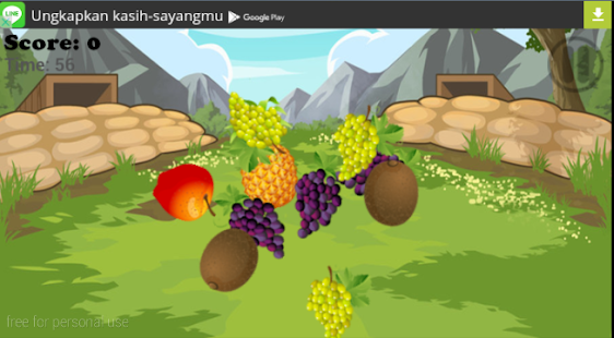 FRUIT TAP SLICER - screenshot