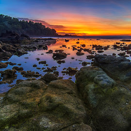 When The Blu's Coming by Aditya Permana - Landscapes Sunsets & Sunrises