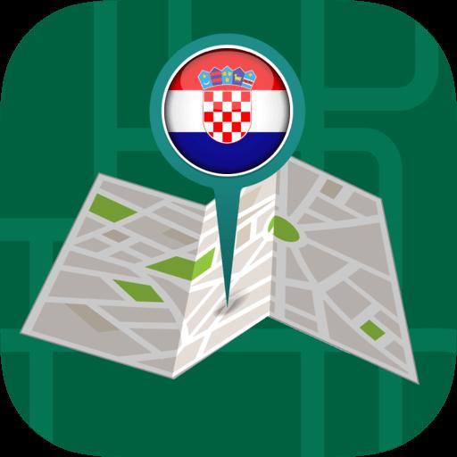 Android aplikacija ��️Offline Maps & Navigation by GPS: Croatia na Android Srbija