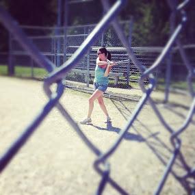 @krisscress just killin' it #longweekend #cottagelivin #may24 #battinglessons by Melissa Rolston - Instagram & Mobile Instagram