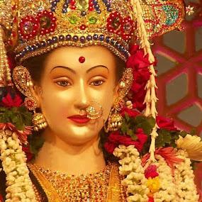 Devi Ma by Hanif Tadvi - Buildings & Architecture Statues & Monuments ( kali puja, puja, 2013, kali )