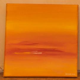 Warmte blikt me toe by Kris Van den Bossche - Painting All Painting