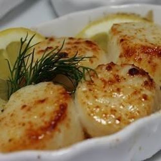 Broiled Bay Scallops In Butter Recipes
