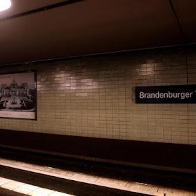 by Filio Starova - Travel Locations Subway