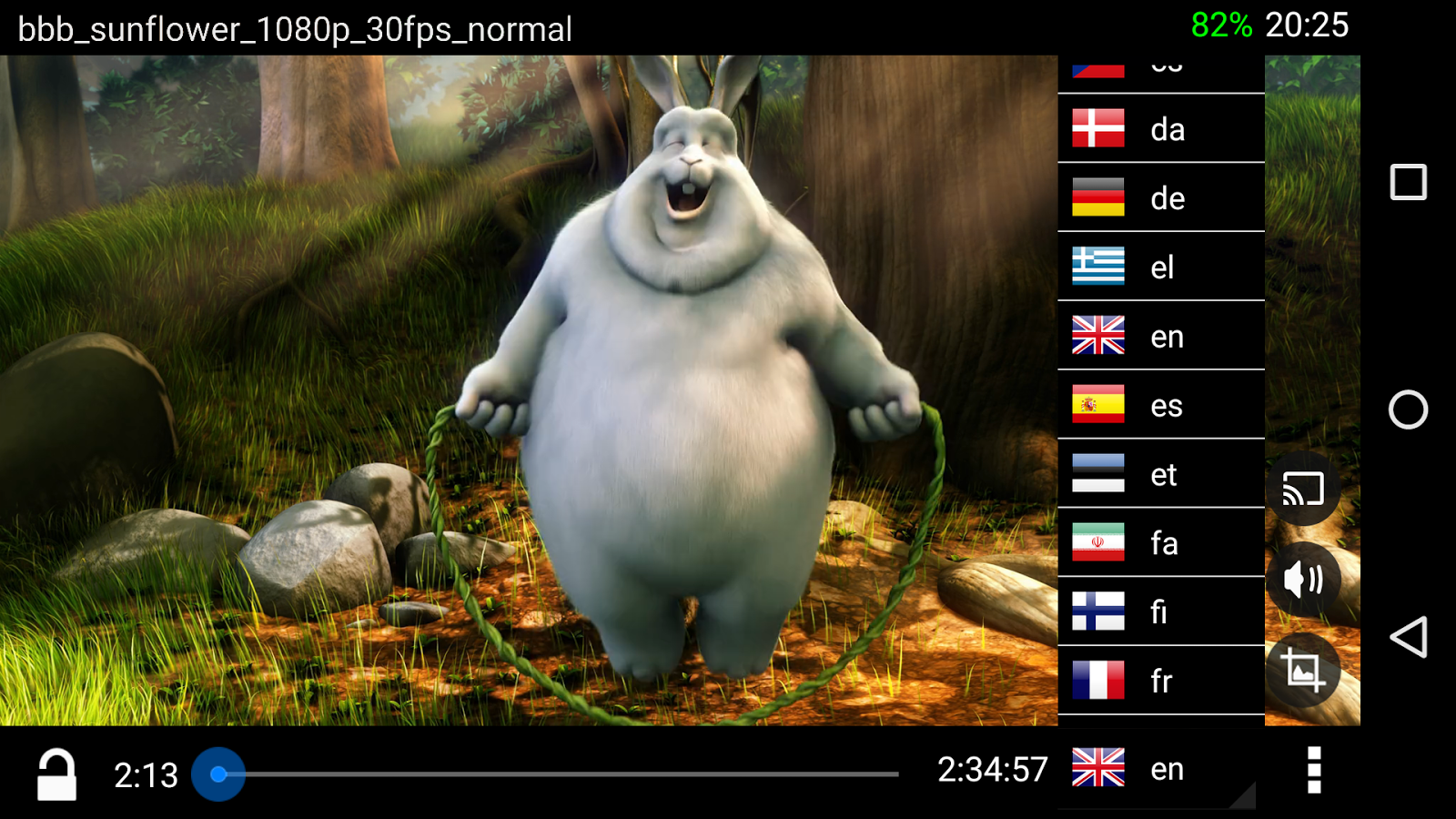 BitX Torrent Video Player Screenshot 3