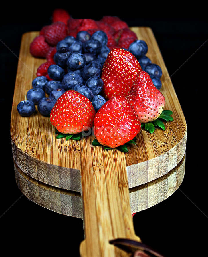 Berries by Dipali S - Food & Drink Fruits & Vegetables ( raw, blueberry, people, crop, colour, berry, super food, nature, fresh, antioxidant, wet, vitamin c, closeup, dessert, water, fruit, sour, raspberry, green, fruits, health, strawberry, snack, organic, nutrition, sweet, red, color, blue, food, ripe, eating, healthy, freshness, vitamin, group )