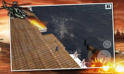 Navy Gunship Sniper Strike 3D - screenshot