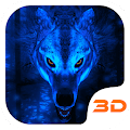 Ice Wolf 3D Theme APK for Bluestacks