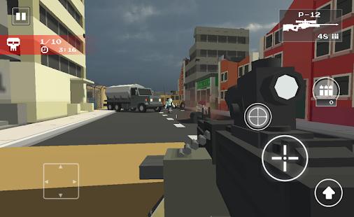 Pixel Z Sniper - Last Hunter