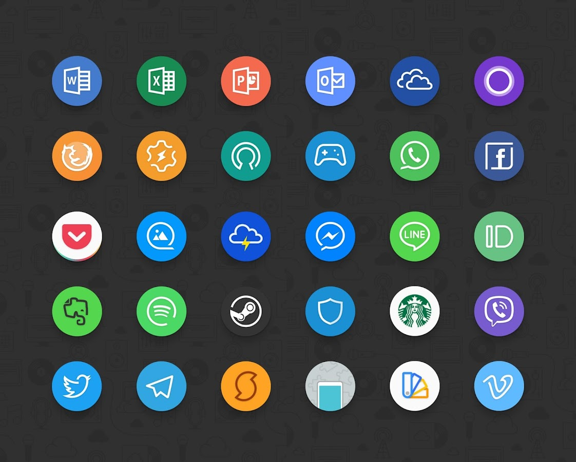 Delux UX Pixel - S8 Icon pack Screenshot 2