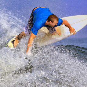 Surfing in Bali by Rozy Fhotography - Sports & Fitness Surfing