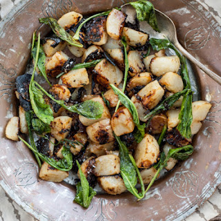 Miso Glazed Turnips