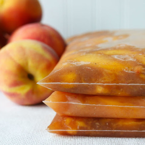 Freezer Peach Pie Kit